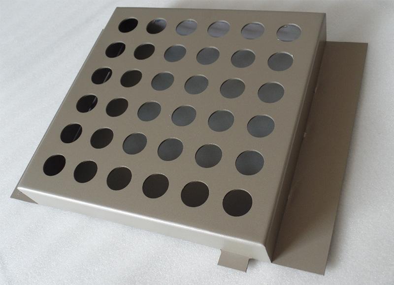 穿孔氟碳铝单板