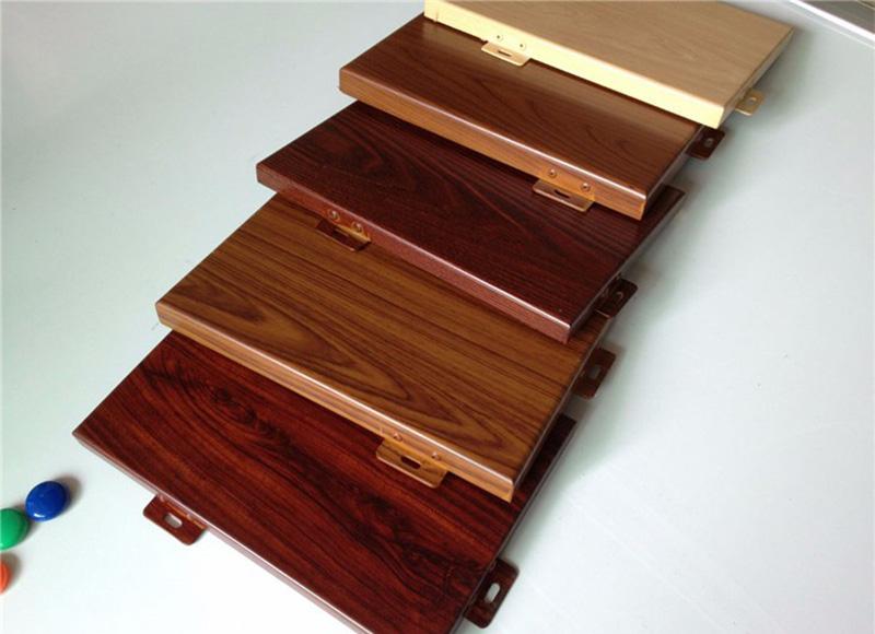防木纹铝单板