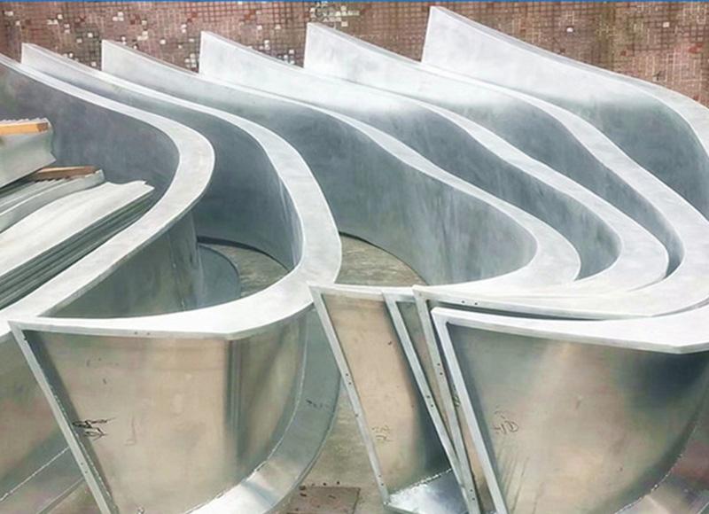 氟碳扭曲铝单板